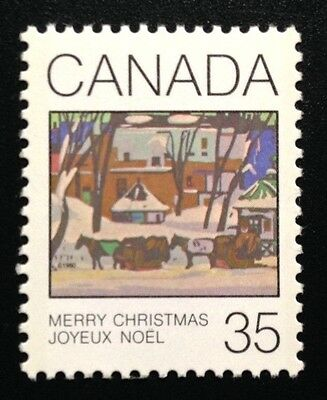 Canada #872 MNH, Christmas - Greeting Cards Stamp 1980