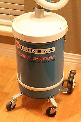 Powerful Eureka Power Sweep Industrial Commercial Canister Vacuum, 405