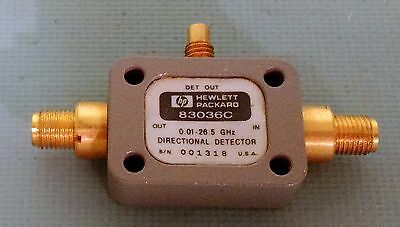 Keysight/Agilent 83036C 26.5 GHz Broadband Directional Detector