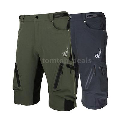 Arsuxeo Baggy Shorts Cycling Pants Shorts Loose Fit Casual for Outdoor DL Q2A5