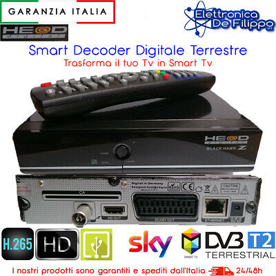 Smart Decoder Digitale Terrestre Mediaset Premium Sky Hd