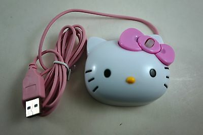 Girls Women 3D USB Scroll Optical Mouse Laptop PC For Hello Kitty Face +Coin Bag
