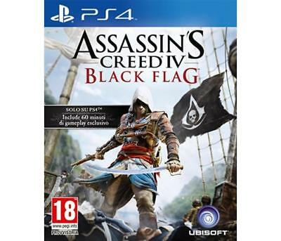 Giochi Sony PS4 UBISOFT - Assassin's Creed 4 Black Flag PS4