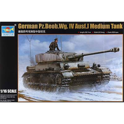 NEW Trumpeter 1/16 German Pz.Beob.Wg.IV Aust.J Medium Tank 922