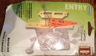 LARGE PLPCI ENTRY MORTISE LOCK w/KEY & NEW E-2294