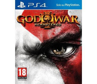 Giochi Sony PS4 SONY COMPUTER - God Of War Remastered PS4   - 15/07/2015