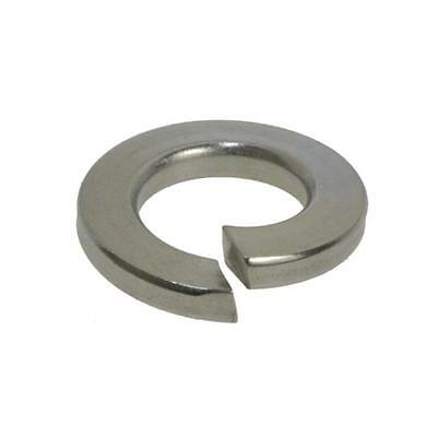 """Pack Size 20 Stainless G304 Spring 3/16"""" (3/16"""") Imperial Medium Section Washer"""