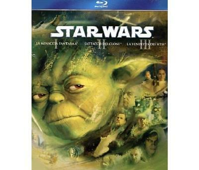 20TH CENTURY FOX - Star Wars Prequel Trilogy - Episodi 1-2-3 (3 Blu Blu-Ray