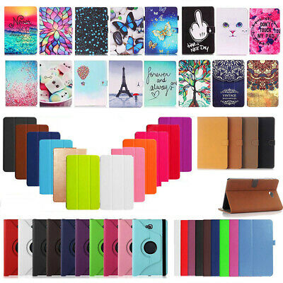 2016 Leather Stand Case Cover For Samsung Galaxy Tab A 8.0/9.7 Tablet Sleep/Wake