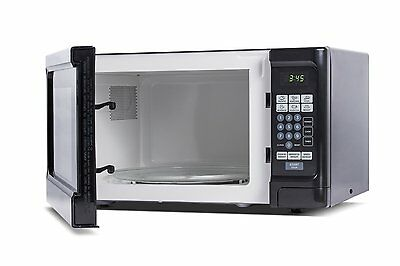 Westinghouse WCM11100B 1000 Watt Counter Top Microwave Oven, Color: Black NEW