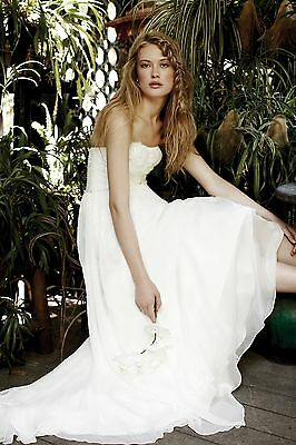 Benjamin Roberts Tia 5305 Wedding Dress UK14 Ivory