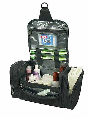 NEW Deluxe Travel Shower Bag Kit Organizer w/ Hanging Hook MULTI COMPARTMENT