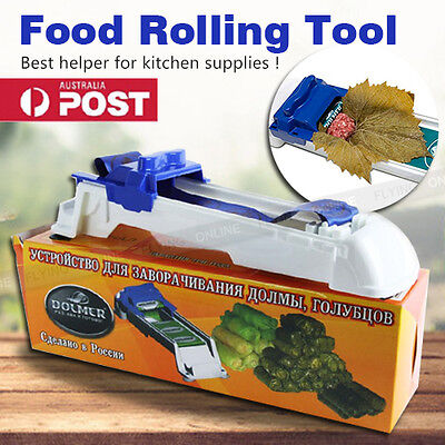 Stuffed Grape Cabbage Leaf Rolling Tool Sarma Dolma Roller Machine Kitchen Tool