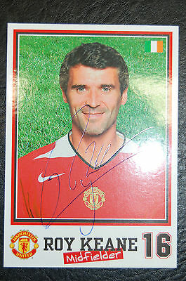 Roy Keane 2004 Signed Official Manchester United Club Photo