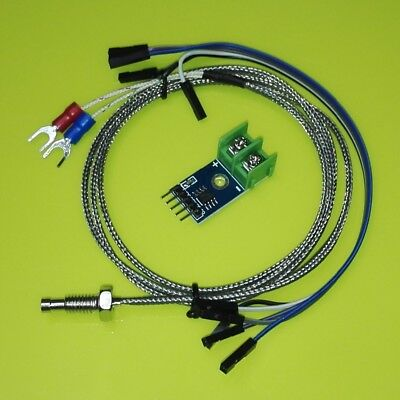 MAX6675 Module + K Type Thermocouple Sensor for Arduino Raspberry Pi
