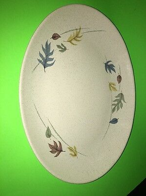 Franciscan Falling Leaves Platter