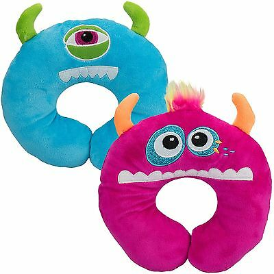 Childrens Kids Travel Soft Pillow Cushion Childs Infant Head Neck Support Car