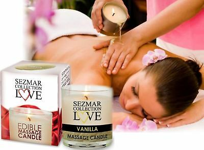 Wax Candle Cocoa & Shea Butter Hot Oil for Body Massage-Delicious Mango Scented