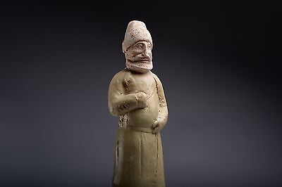 Ancient Chinese Tang Dynasty Merchant Figure - 618 AD
