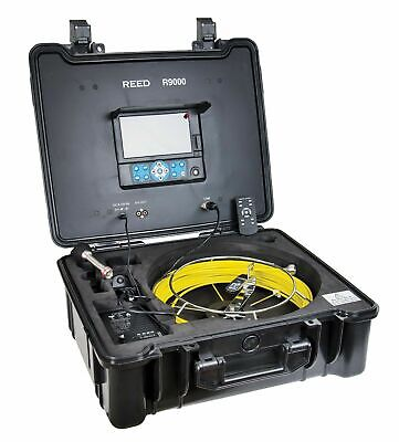 REED Instruments R9000 Pipe Video Inspection System, 7 TFT LCD