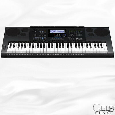 Casio  61-note portable keyboard with SD card slot and USB - CTK6200