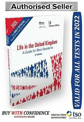 Life in the United Kingdom UK Handbook 3rd Edition Citizenship Test Book 2019 Lf