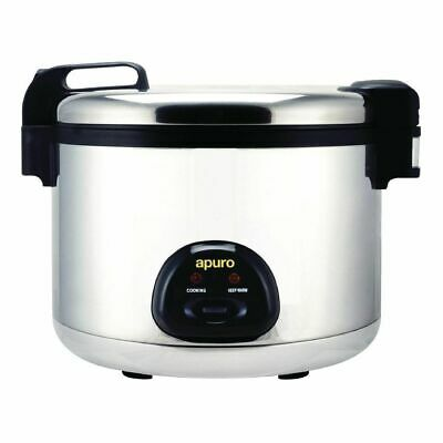 Rice Cooker / Steamer Large 9L Dry - 20L Cooked, 15Amp Commercial Apuro