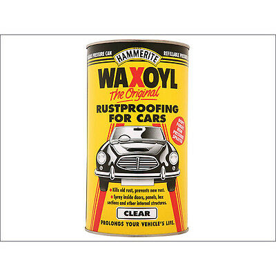 Hammerite Waxoyl Clear Pressure Paint Can 2.5 Litre
