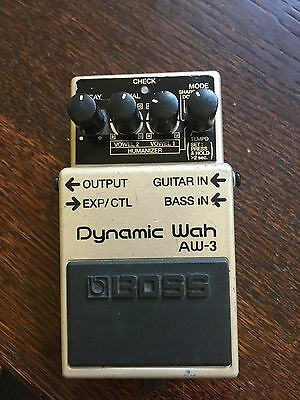 BOSS AW-3 'Dynamic Wah' Guitar Effects Pedal