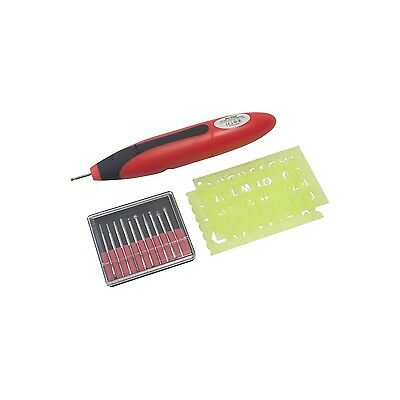 Am Tech 3V Pen Style Engraver With Accessories Engraving Tool Metal Plastic Wood