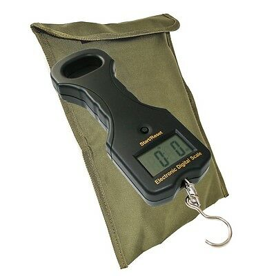 DIGITAL ELECTRONIC CARP FISHING WEIGHING SCALES 55lb/25kg WITH BAG