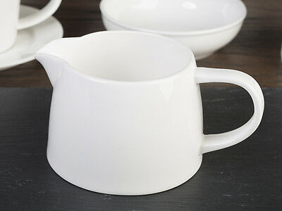 M by MIKASA White Vitrified Porcelain CREAMER MILK JUG