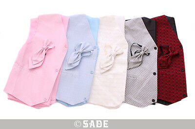 Boys Waistcoat & Cravat Set 1 to 15 yrs in Pink Blue Silver or Burgundy  New