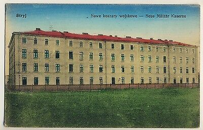 Ukraine STRYJ Стрий Neue Militär Kaserne / New Military Barracks * AK um 1915