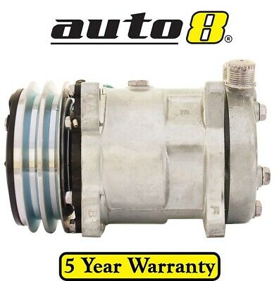 Air Conditioning Compressor replaces Sanden 8031 - 12v with 2A 132MM pulley