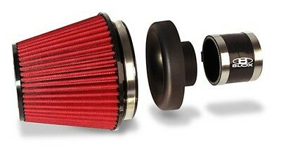 Blox Racing 3 Inch Black Composite Velocity Stack Air Filter Kit Fits For Honda