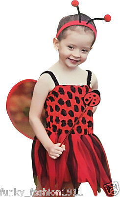 Childrens Girls Book Week Child Lady Bird Toddler Costume Fancy Dress Outfit