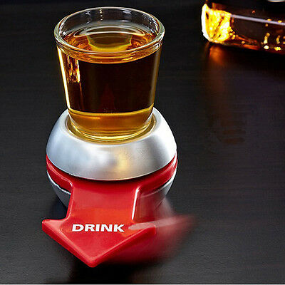 Shot Spinner Party Drinking Game Vodka Spin The Bottle Adults Fun Novelty Gift E