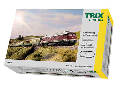 Trix Minitrix 11139 Starter set con locomotiva diesel BR 132 DB analogico # in #