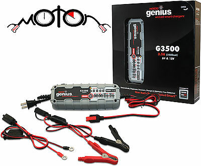 NOCO Genius G3500UK 6V/12V 3.5A UltraSafe Smart Battery Charger 3.5 Amp