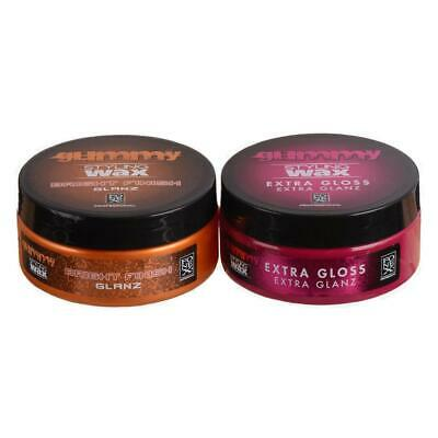 Fonex Styling Pack: Gummy Styling Haarwax Bright Finish & Extra Gloss je 150 ml
