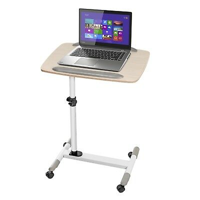 Universal Portable Adjustable Laptop Projector Desk Trolley Table Stand Tray