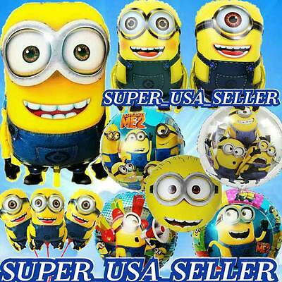 PARTY SETS JUMBO MINIONS BALLOONS PARTY SUPPLIES PIXAR GIFTS SHOWER BIRTHDAY N