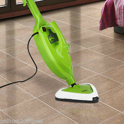 ALL IN ONE 1500W Multi-propósito Limpiador de vapor Steam Cleaner Mop Cleaning