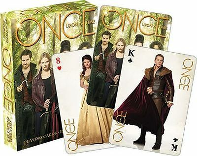 Once Upon A Time - Tv Show Cast - Playing Card Deck - 52 Cards Brand New - 52390