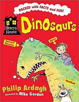 Dinosaurs Fact Book, by Philip Ardagh (Paperback) New