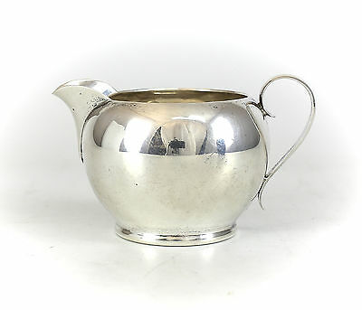 Gorham Sterling Silver Pint Creamer, Cream Pitcher #393. Marked Gorham, c1940
