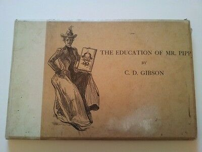 Antique Book 1901 The Education Of Mr Pipp by C D GIBSON