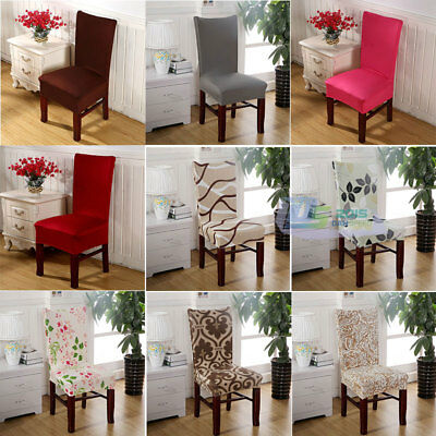 Universal Stretch Spandex Dining Room Wedding Banquet Chair Cover Slipcover