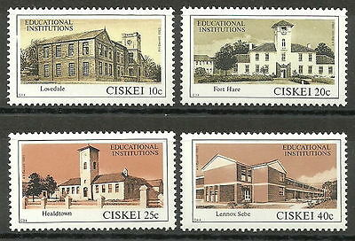 Ciskei 1983 Educational Institutions MNH